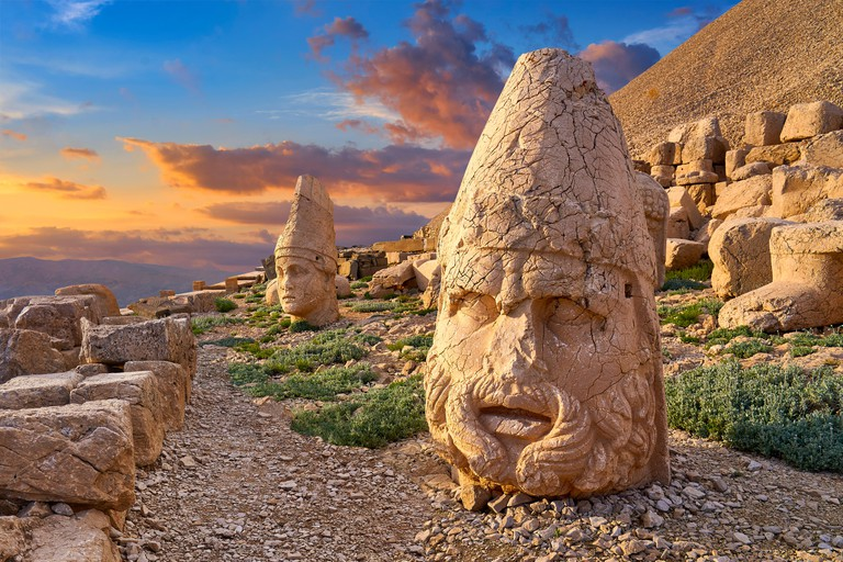 Mount Nemrut, Dagi National Park, Turkey
