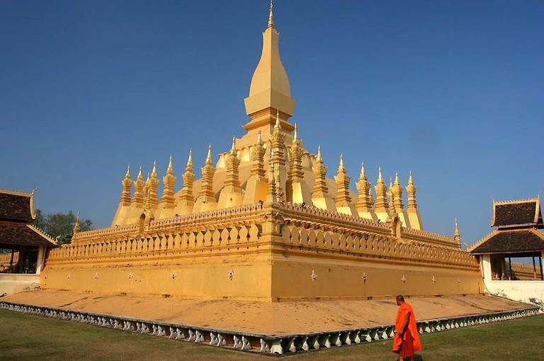 Pha That Luang, Vientiane Laos