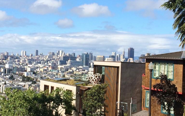 Hilltop view from Potrero Hill