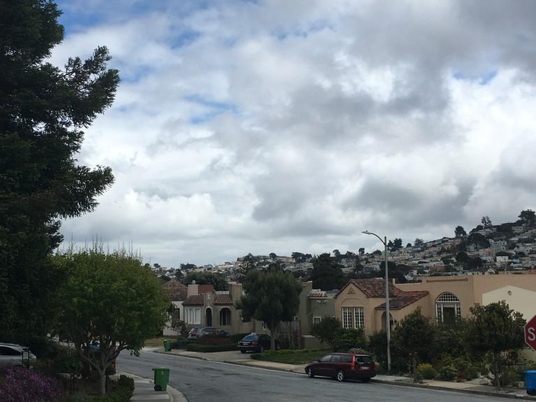 Ingleside Terrace, Urbano Drive, skyline view