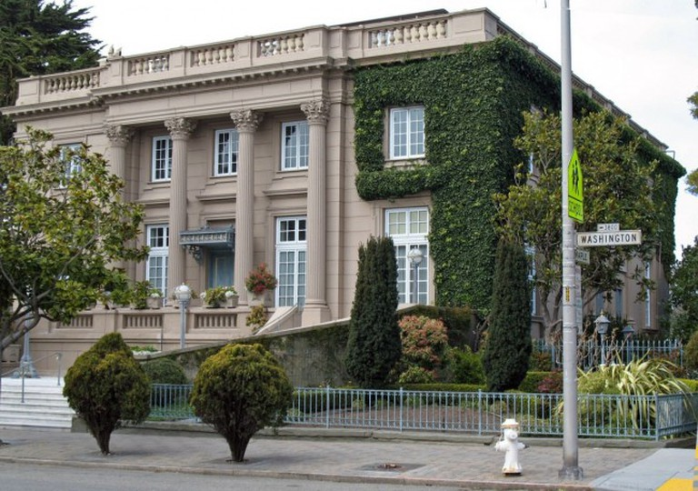 The Koshland House in Presidio Heights