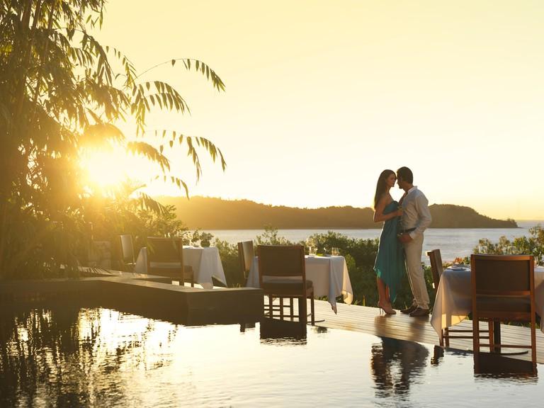Enjoy a romantic dinner at Long Pavilion