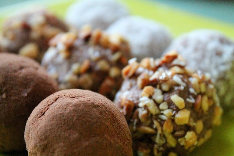 Raw Vegan Coconut & Almond Truffles