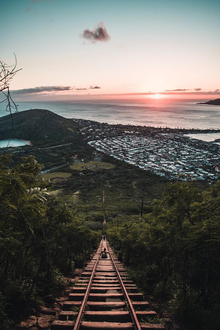 Koko Crater Railway Trail | © Remi Yuan/Unsplash