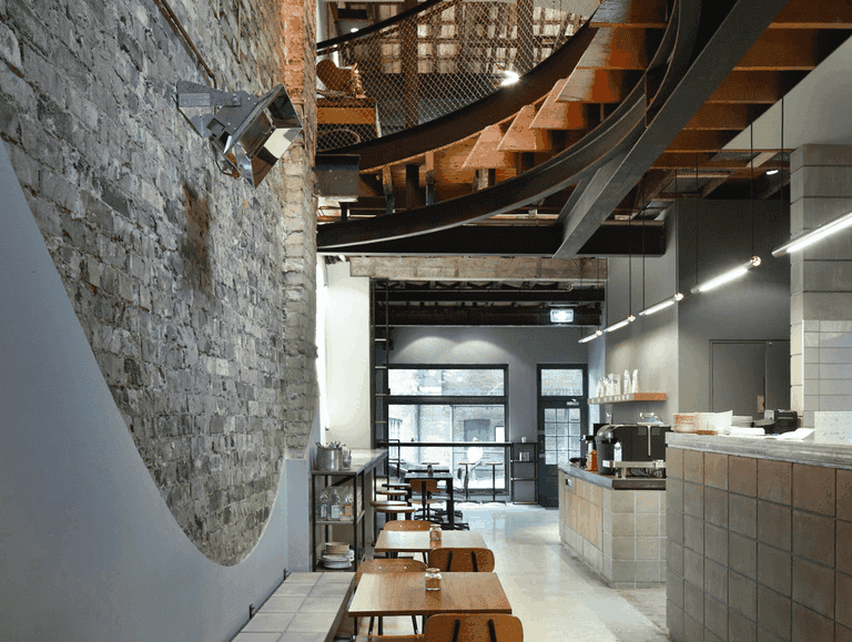 Reuben Hills interior © Reuben Hills