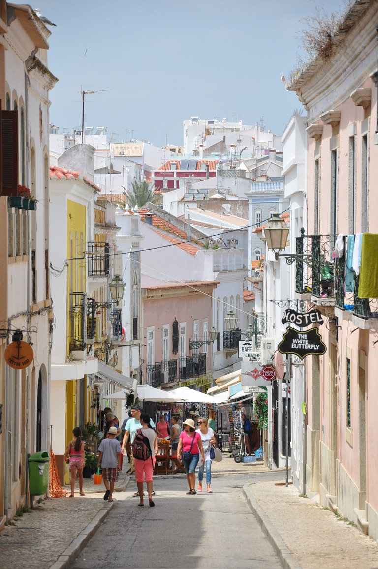 Shopping in the Algarve is always a unique experience