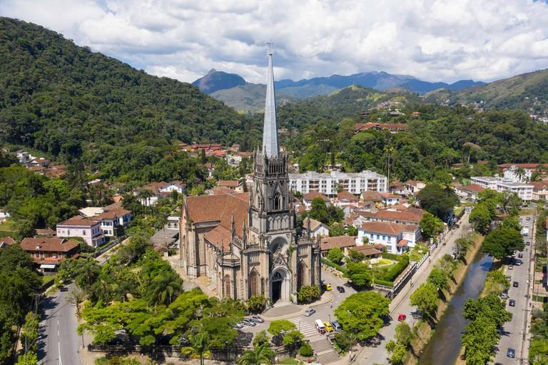 Catedral Sao Pedro de Alcantara - Petropolis, Rio de Janeiro - BrasilSaint Peter of Alcantara Cathedral - Petropolis - Rio de Janeiro - Brazil