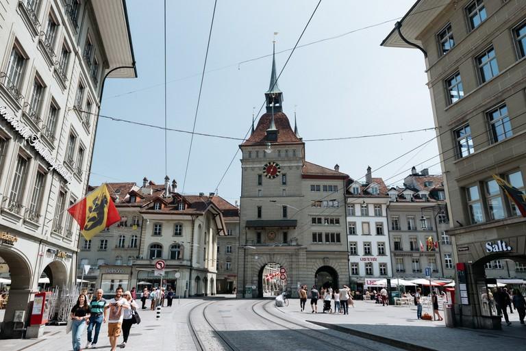 OLD TOWN-BERN-SWITZERLAND