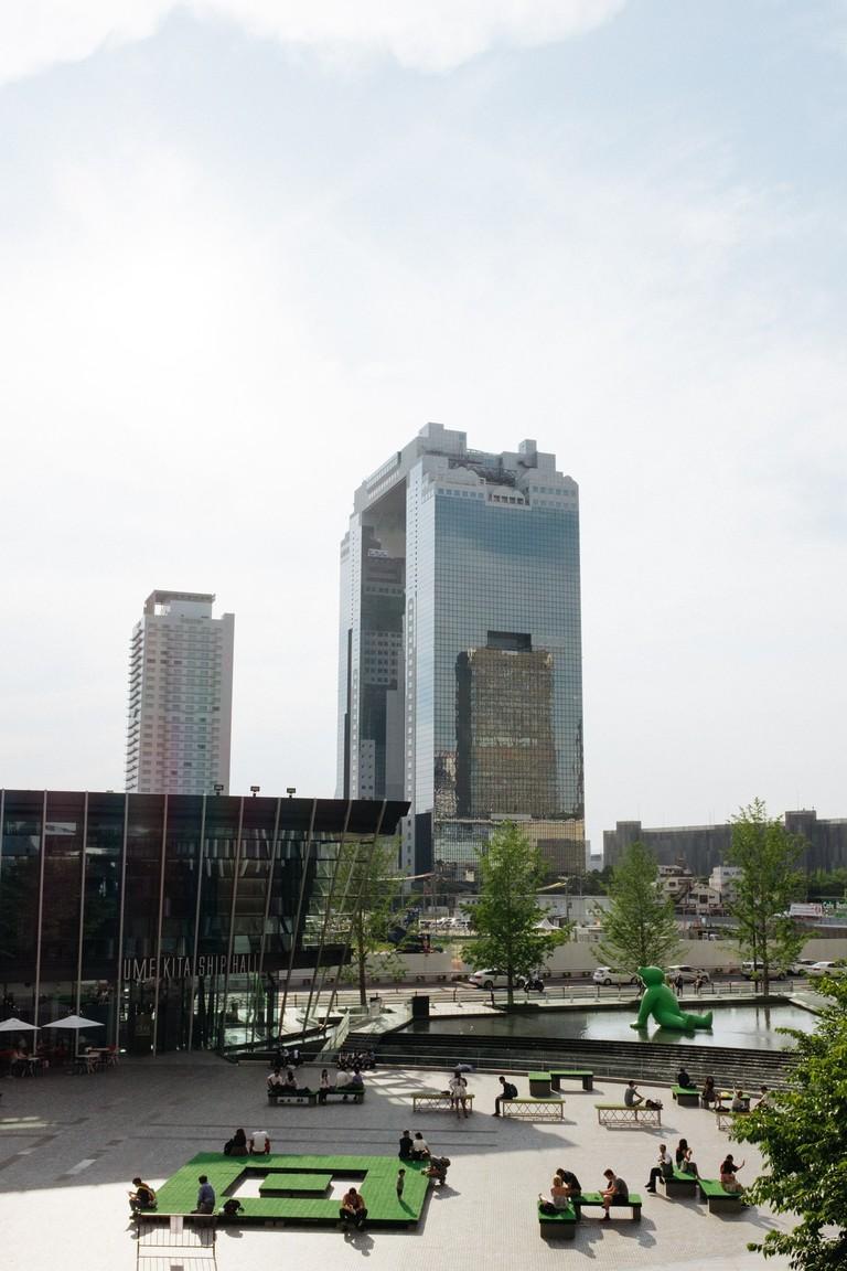 Umeda sky Building-Osaka-Japan
