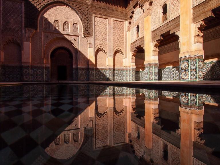 Ali Ben Youssef Medersa Islamic school, Marrakesh, Morrocco