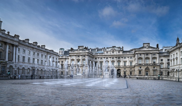 The Courtauld Gallery Institute at Somerset House.