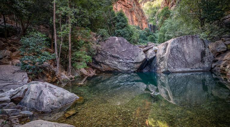 Exploring Emma Gorge