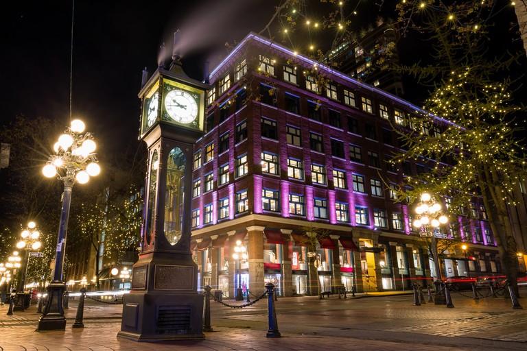 Steam Clock in Gastown, Vancouver