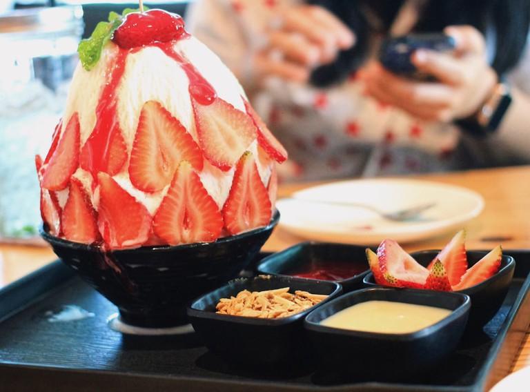 Strawberry Bingsu   ©porschebeesnap/Shutterstock