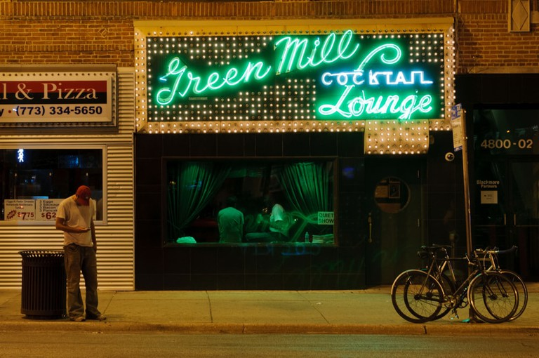 The famous Green Mill Cocktail Lounge in Chicago, Illinois | © Kristopher Kettner/Shutterstock