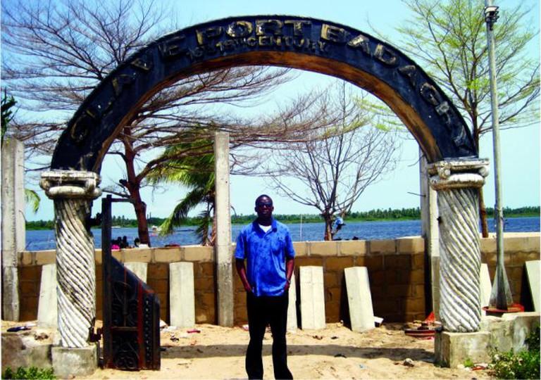 Signage Slave Port Badagry