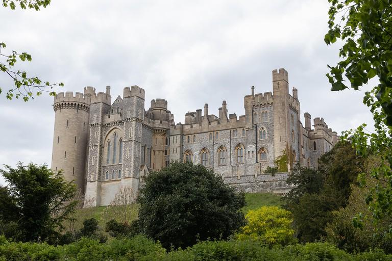 Arundel castle, a typical english castle