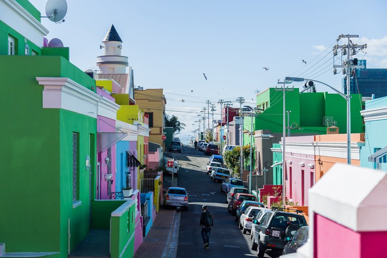 The colourful streets of the Bo-Kaap