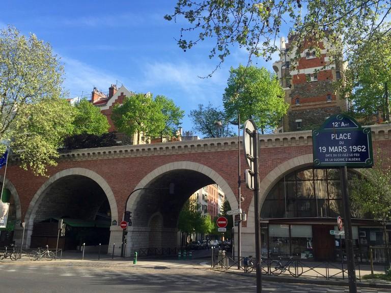 The Viaduc des Arts along the Promenade Plantée