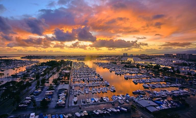Marina-Del-Rey-sunset-LA-CA