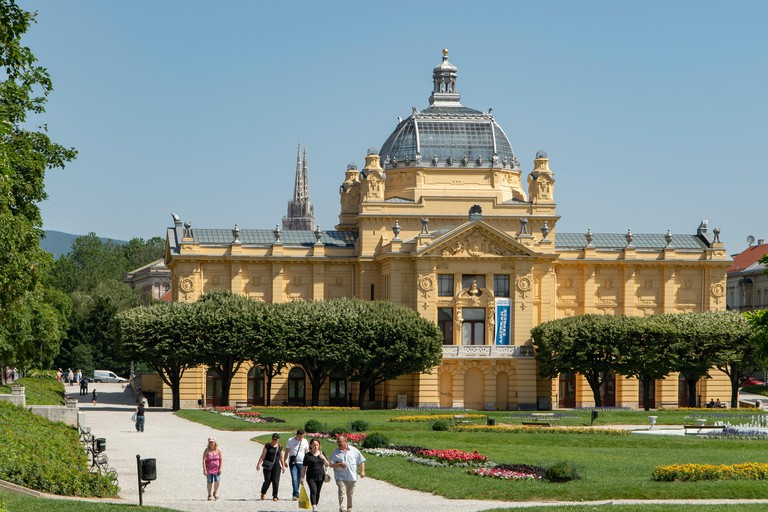 Art Pavilion in King Tomislav Square, Zagreb
