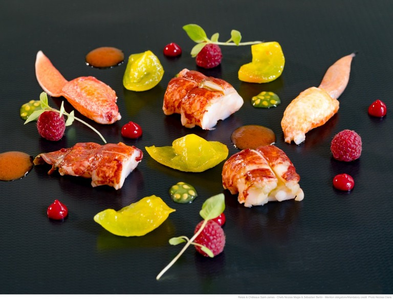 European Lobster and premium products are served at Le Saint James restaurant
