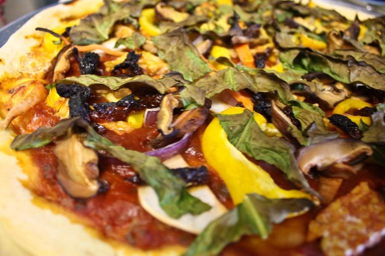 Vegan pizza © avry/Flickr