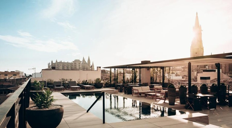 Rooftop at Hotel Sant Francesc