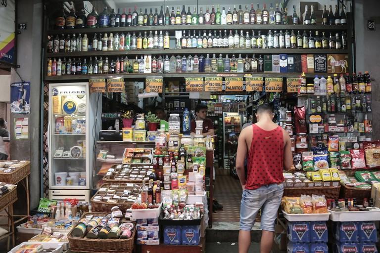 indoor markets CADEG in Rio de Janeiro