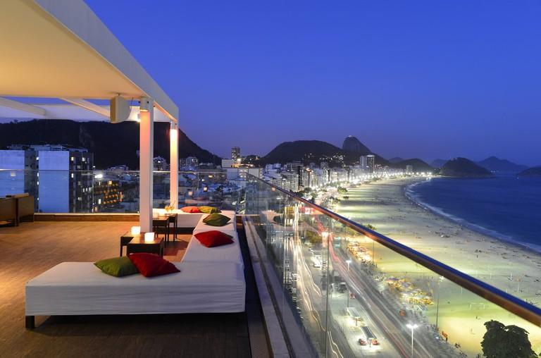 rooftop bars in Copacabana