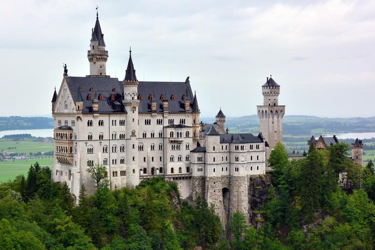 Neuschwanstein Castle, Schloss Neuschwanstein, Hohenschwangau, Germany, Europe