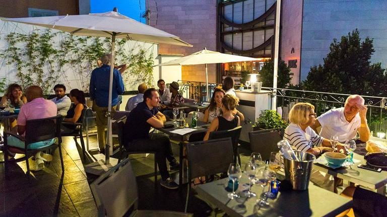 The terrace |© Courtesy of Workhouse Café