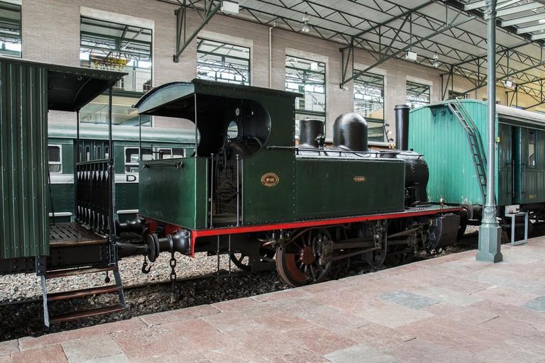 Museo del Ferrocarril de Asturias, Gijón