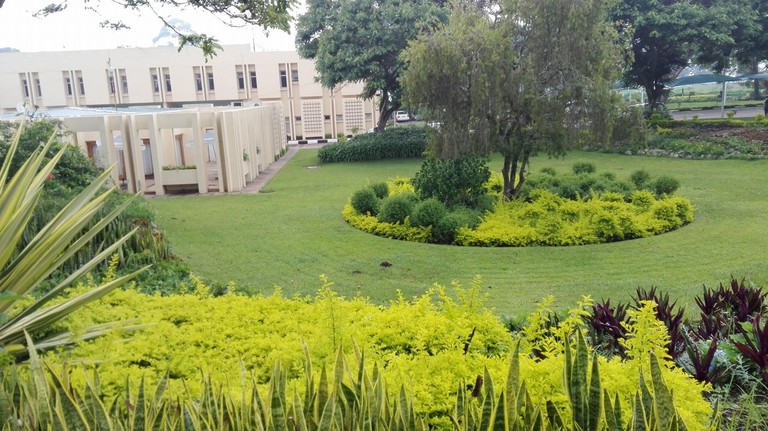 Sunbird Hotel Lilongwe gardens