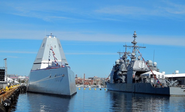 Navy ships, Maryland Fleet Week, Baltimore, MD