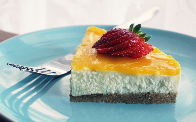 Casa Maria wows with homemade desserts such as lemon cheesecake