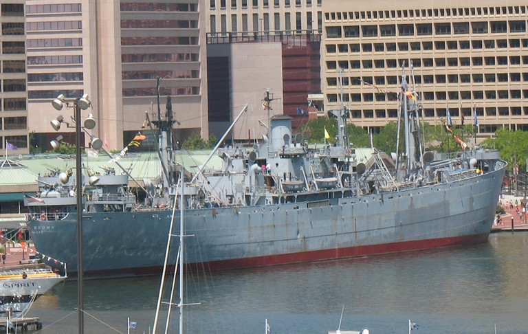 SS John W. Brown, Historic Ships, Baltimore, Maryland