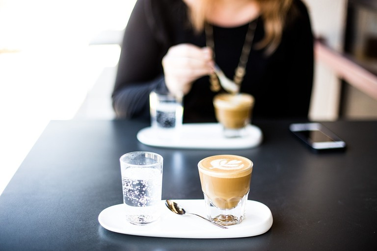 Coffee time at Aucuba