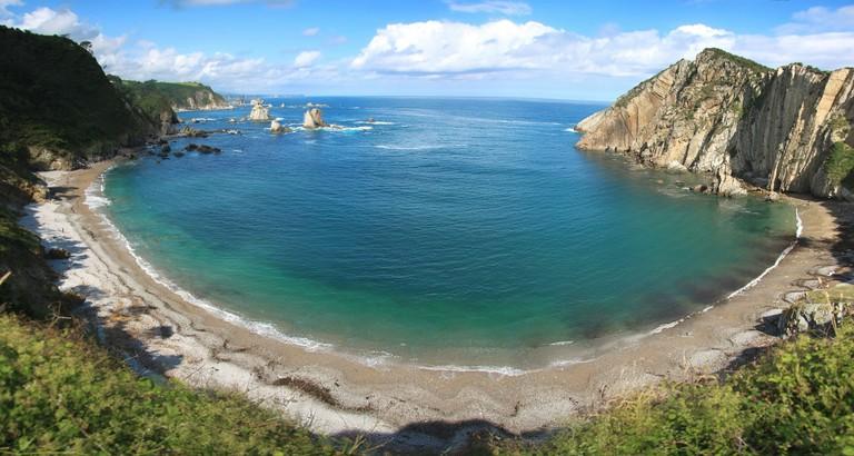 Playa de Silencio, Asturias
