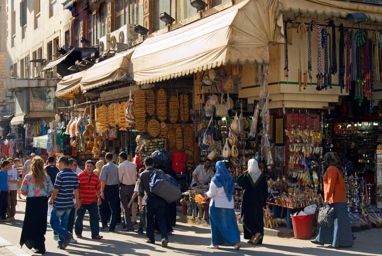 Khan El Khalili Bazaar, Cairo, Egypt