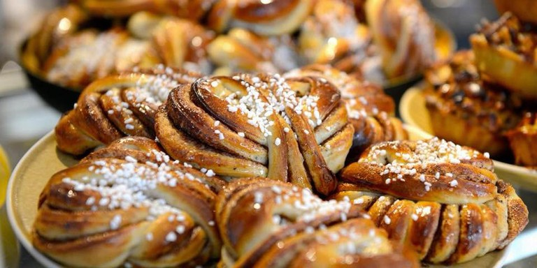 Kanelbullar, a home-made cinnamon bun, is the speciality of Bloom Coffee Shop in Luxembourg