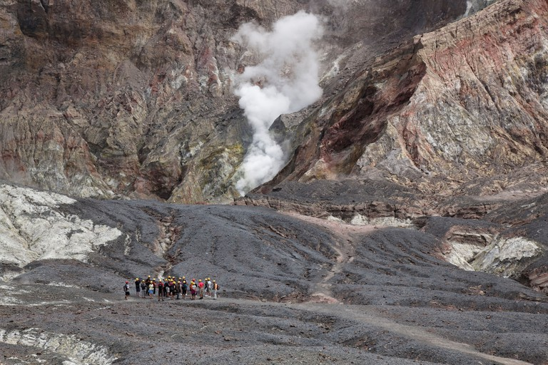 White Island Volcano view
