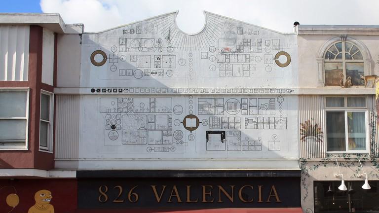 826 VALENCIA PIRATE SUPPLY STORE & WRITING CENTER MISSION DISTRICT SAN FRANCISCO USA 10 November 2010