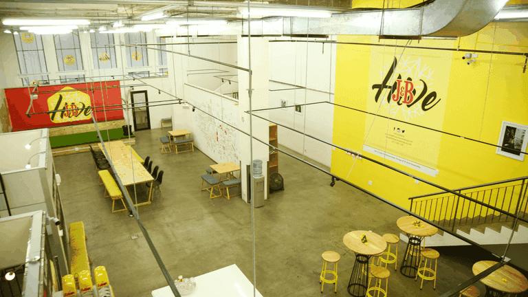 Co working spaces in Joburg_J&B Hive-min