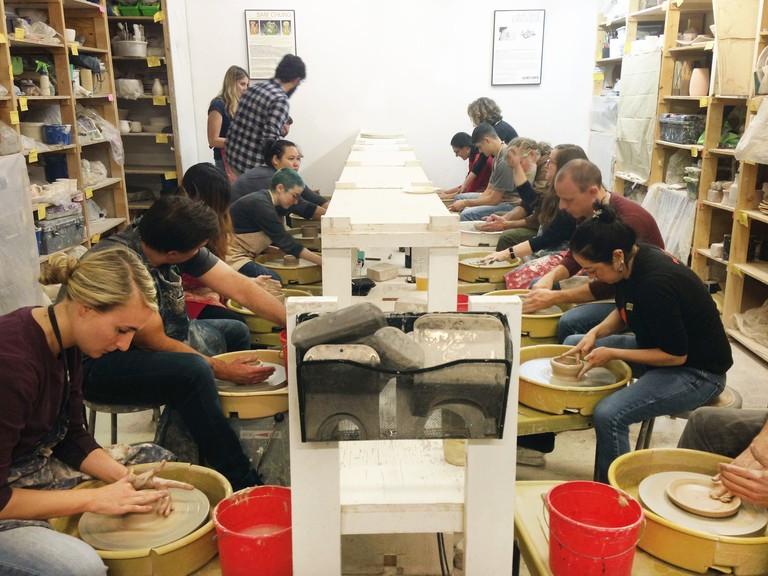 Date Night Throwdown Ceramics