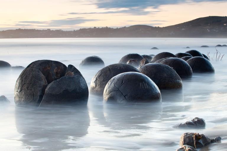 Moeraki Boulders Scenic Reserve, South Island, New Zealand