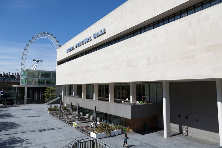 Royal Festival Hall is on London's South Bank