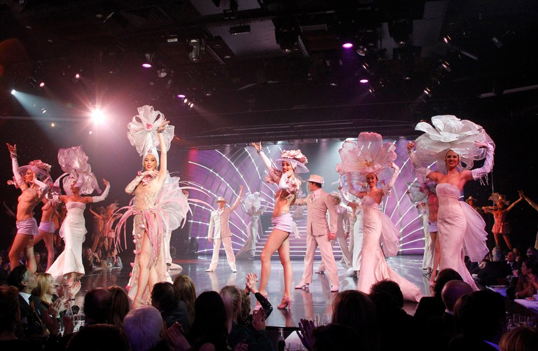Enjoy cabaret at the Lido de Paris