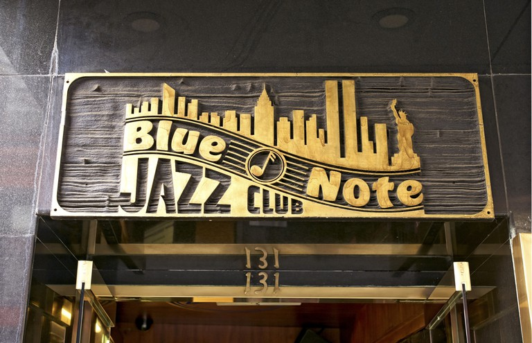Legendary musician Dizzy Gillespie once played at New York's Blue Note Jazz Club