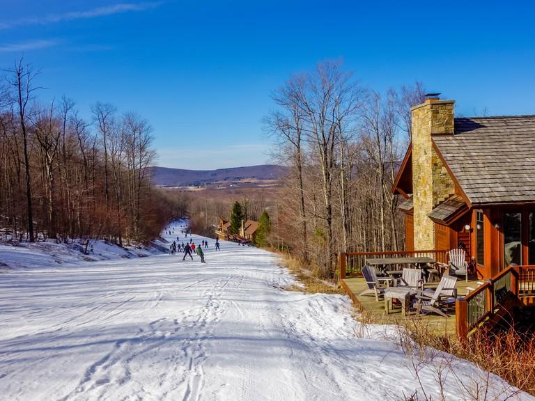 scenery around timberline ski resort west virginia. Image shot 02/2016. Exact date unknown.